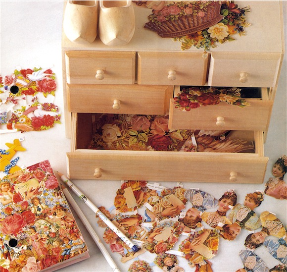 About Decoupage items