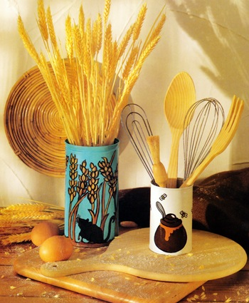 Make Painted Tin Cans In 8 Easy Steps