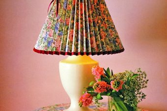 Pleated Paper Lampshade In 10 Easy Steps