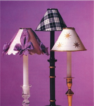 How to Make Candle Lampshades In 5 Steps